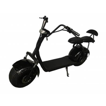 der Roller elektro-Zweisitzer CityCoco Black 60v