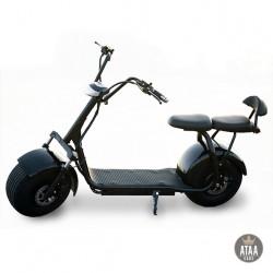 der Roller elektro-Zweisitzer CityCoco Black 60v ROLLER