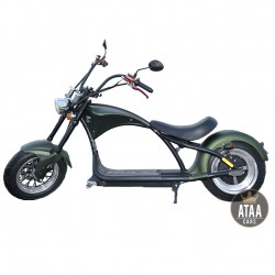 Chopper elektrische matriculable ATAA Pirate 2000w ROLLER