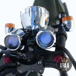 Chopper elektrische matriculable ATAA Pirate 2000w ROLLER