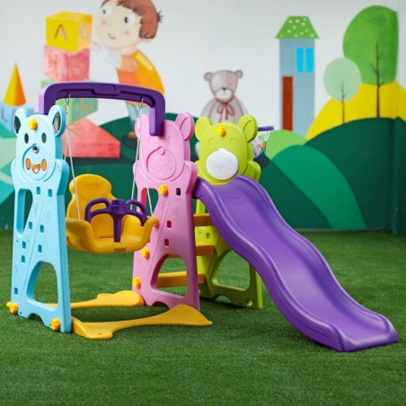 Kinder-Spielplatz 5 in 1