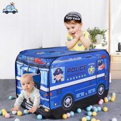Polizei-Zelt mit Spielbällen Outdoor und garten