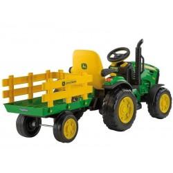 Traktor John Deree 12v -traktor, um den kindern batterie Erschöpft