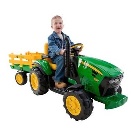 Traktor John Deree 12v -traktor, um den kindern batterie