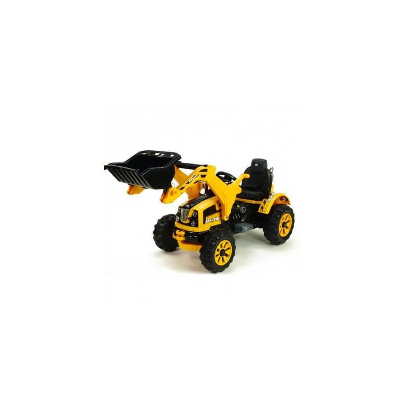 Traktor Schaufel elektrisch KINGDOM 12v mp3 Traktoren