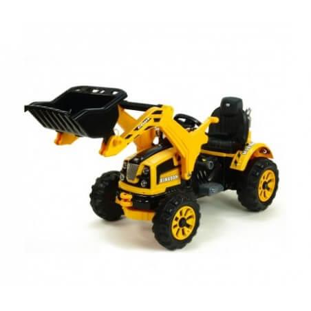 Traktor Schaufel elektrisch KINGDOM 12v mp3